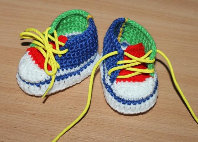Пинетки для новорожденных вязать со схемами